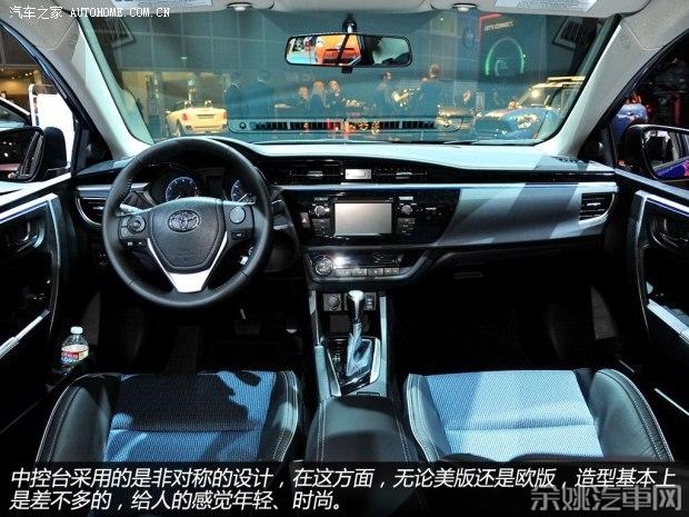 丰田 洛杉矶/丰田丰田(进口)卡罗拉(海外)2014款基本型