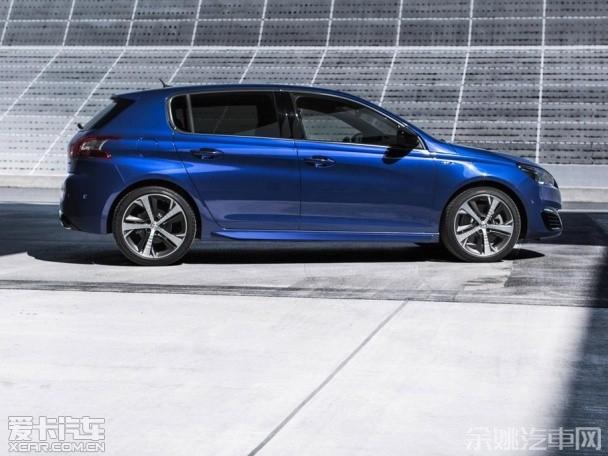 疑似新款标致308 GTi谍照 将于6月发布高清图片