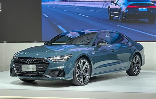 上汽奥迪A7L下线投产 预售59.97万元起